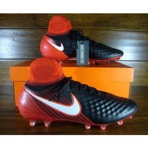 Nike Magista Orden II FG Mens Soccer Cleats Black